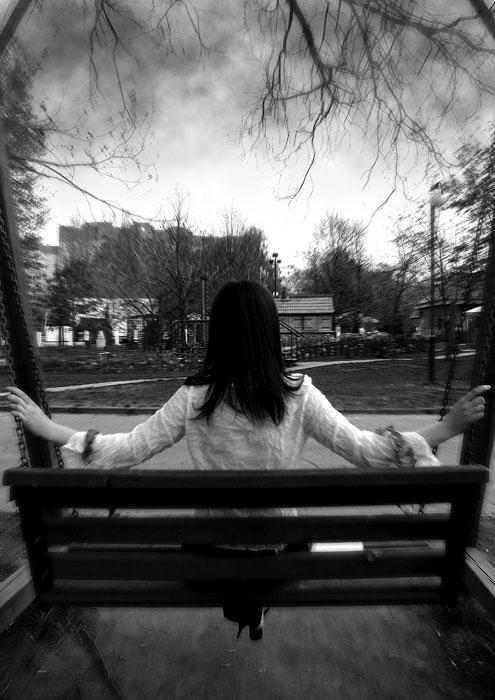 Портрет одесситки со спины - Раздел гламур - Фотография на фотосайте.