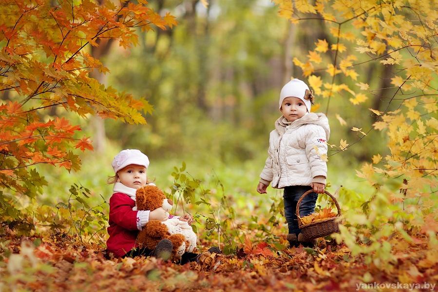 Коллаж про осень фото