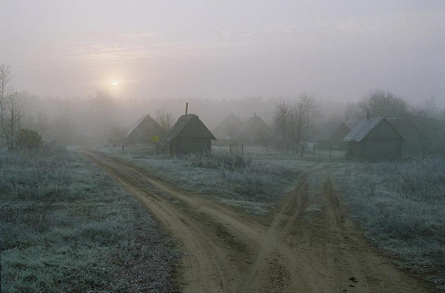 Утро пахло