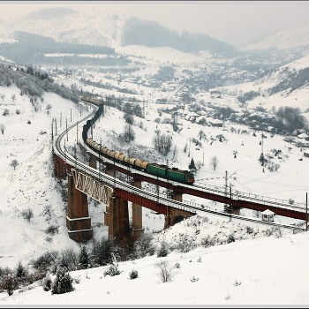 О железной дороге в горах