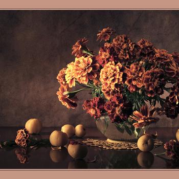 натюрморт с цветами №3