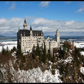 замок Neuschwanstein (Бавария)