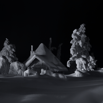 Сахарный домик Лапландии