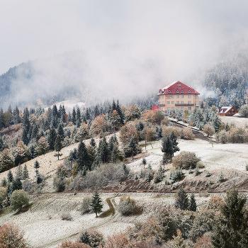 Снежный октябрь