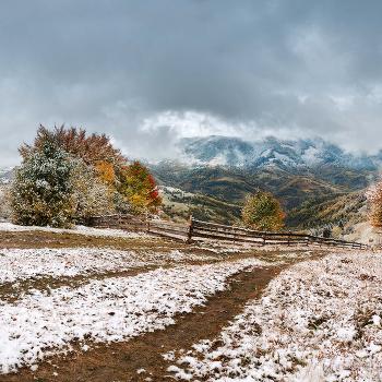 Зима в Октябре